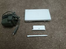 Nintendo DS Lite Polar White Console with Mains Charger and New Stylus