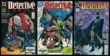 Batman Blind Justice Comic set 1-2-3 Lot Detective 598 599 600 Dark Knight art