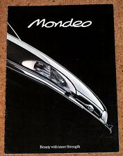 1993 FORD MONDEO Sales Brochure - Saloon Hatch Estate - Ghia Si GLX LX