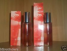 AVON COLLECTION de fleurs SENTIMENTAL PINK  edt 2 bottles each  30ML vintage