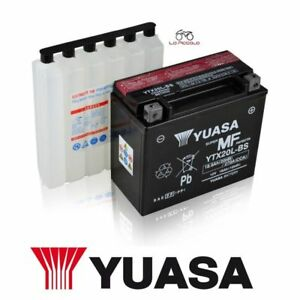 BATTERIA YUASA YTX20L-BS HARLEY DAVIDSON FLSTN Softail Deluxe 1584 2009 2010