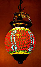 """Vintage Antique Hanging Ceiling Lamp Light Moroccan Swag Indian Pendant Lamp 13"""""""