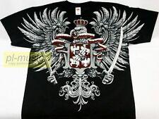 = t-shirt POLISH WINGED HUSSARS /HUSARIA - POLSKA/ ORZEL-size L koszulka Husarz