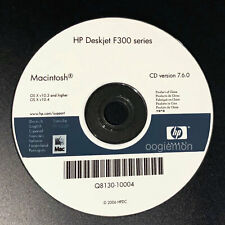 Mac ONLY! Setup CD ROM for HP Deskjet F300 Series Software F380 F310 F325 F340..