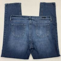 KUT From The Kloth Womens Straight Leg Jeans Blue Medium Wash Stretch Denim 10 S