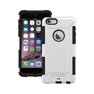 Trident Aegis iPhone 6 Plus & iPhone 6s Plus Rugged Hard Shell Cover Case White