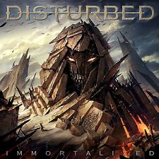 DISTURBED  IMMORTALIZED CD UK Standard Edition The Vengeful One, Light & Fire it