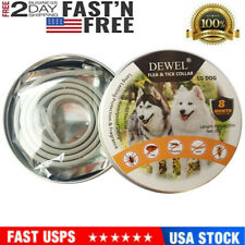 New listing Dewel Flea and Tick Control Collar for Large Dog Over 18lb 8 Month Protection