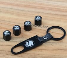 Wheel Tire Tyre Valve Air Cap Cover Styling For Suzuki Swift Vitera Key Chai