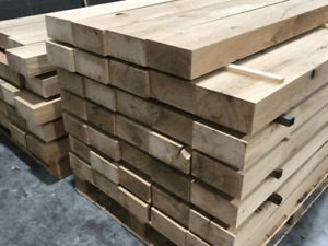 Planed Oak Beam PSE Air Dried Free Delivery Trade Prices