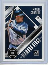 2018 Donruss Miguel Cabrera Diamond Kings Card