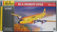 Heller 80330 - Douglas DC-6 - Securite Civile - 1:72 -Flugzeug Modellbausatz Kit