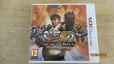 JEU SUPER STREET FIGHTER IV 3DS EDITION - NINTENDO 3DS manuel inclus