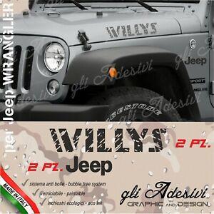 Kit Adhesives Jeep Wrangler Bonnet Door Willys