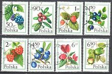 Poland 1977 - Forest Fruits - Mi 2487-94- used