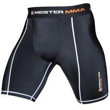 Meister Compression Rush Shorts w/ Groin Pocket - Mma Vale Tudo Rash Guard New