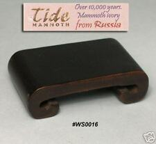 Hard Wood Stand For Netsuke & Carving Display (WS0016)