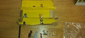 Very rare Marx Disneykins Lady And The Tramp Complete Set