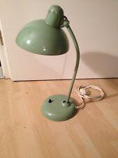 Kaiser Lampe Mintgrün Schreibtischlampe Kaiser Idell Antik vintage 50er Jahre