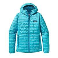 Patagonia Nano Puff Hoody Insulated Women's Jacket L RRP£220 Ultramarine