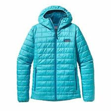 Patagonia Nano Puff Hoody Insulated Women's Jacket L RRP£220 Ultramarine