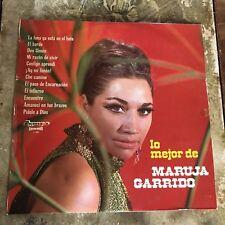 Lo Mejor de Maruja Garrido Vintage Vinyl Record Album Spain