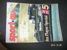 ** Sport Auto n°193 Porsche 911 Monte Carlo Simca 1000 Rallye 3 Peter Warr