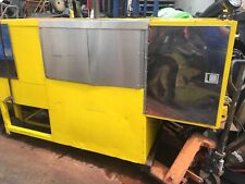 DISNEY WORLD FOOD CLEANING CART STAINLESS 10 FT. X  5 FOOT HEATED AND WATER PUMP