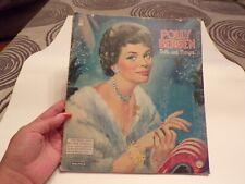 Vintage 1958 Polly Bergen Saalfield Paperdoll