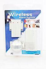 Indoor Wireless Alarm System EZ Security 100 Motion Sensor Alarm or Entry Chime