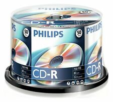 Philips CDR-80 (52x) 50pk Broche