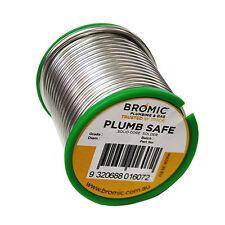 Bromic PLUMBING SOLDER 3.2mm 500g Solid Core Wire, External Flux Use *Aust Brand