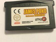 NINTENDO GAMEBOY ADVANCE SP Micro Cartucho De Juego JAMES POND ROBOCOD nombre en clave