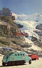 SNOWMOBILES TRANSPORT VISITORS, CANADIAN ROCKIES ALBERTA CANADA 1965 Shaw photo