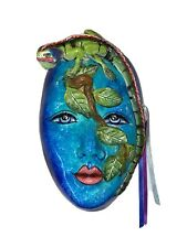 Exotic Face Mask Decorative Wall Art  Signed Famar Mexico