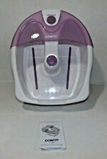 Conair Foot Spa w/Vibration and Heat in box. Model Fb3