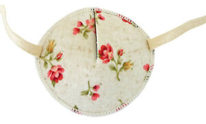 Pink Roses - Medical Adult Eye Patch Soft Washable sold to NHS