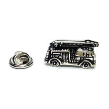 Retro Fire Engine Lapel PIn Badge Gifts For Him