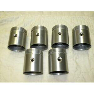 1950's BENTLEY MK VI AND R TYE 4 1/2 LITER ENGINE PISTONS PINS RINGS SET