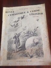 Livres ancien sur la chasse 1930