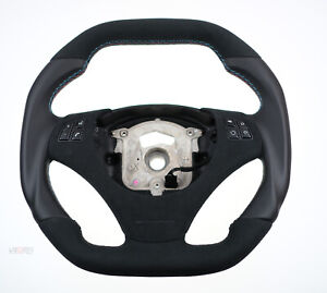 BMW flat bottom square top custom steering wheel E90 E91 E92 E93 E87 E82 E88 E81