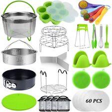 23 Pcs Pressure Cooker Accessories Compatible with 6,8 Qt Instant Pot, Steamer