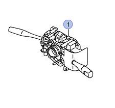 NEW Genuin Suzuki ALTO Indicator Light Wiper Stalk Swith Combination 37400M70F30