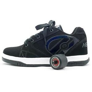 New Heelys Propel 2.0 Black Trainers Shoes