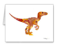 Raptor Note Cards With Envelopes