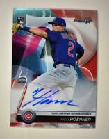 2020 Bowman's Best of 2020 Auto #B20-NH Nico Hoerner RC - Chicago Cubs