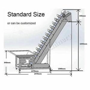 Z Type Feeder Corn Rice Bucket Elevator Conveyor vibration feeder Machine by Sea
