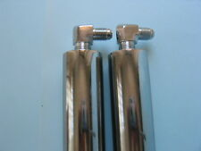 "Lowrider Hydraulics 14"" cylinders (FAT), with elbows chrome finished"