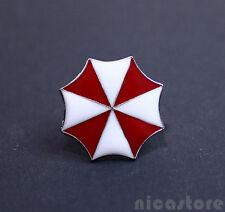Spilla umbrella corporation Badge Resident Evil Videogame Brooch Umbrella Pin