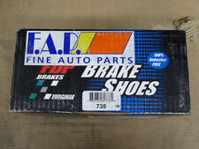 BRAND NEW FDP BRAKE SHOES 738 FITS VEHICLES LISTED ON CHART